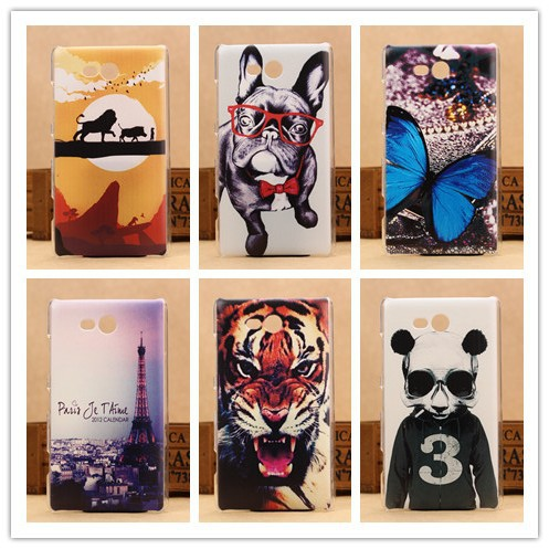 Hot Pattern Hard Case For Nokia Lumia 820 Mobile Phone Cases Plastic Back Protective Cover PY(China (Mainland))