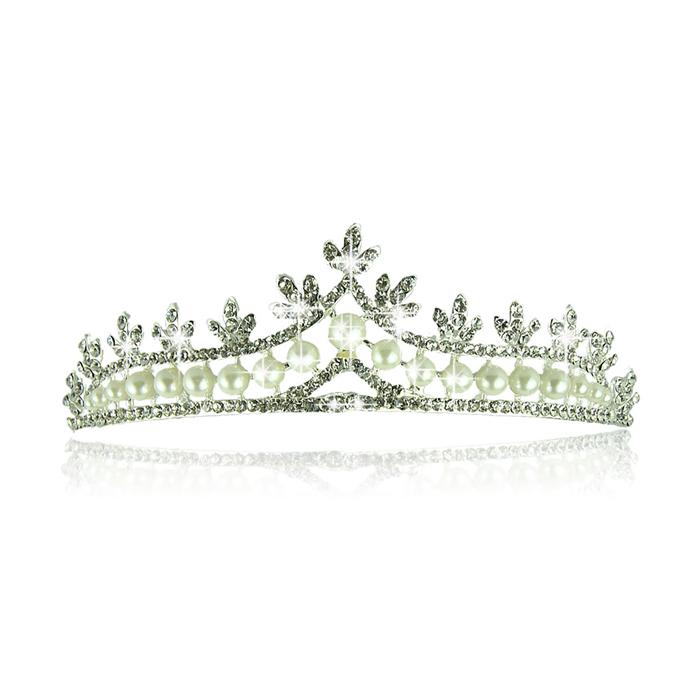 New Bridal tiara Crown Pearl star dream amount wedding Bridal Accessories hair accessories best deal 1pcs(China (Mainland))