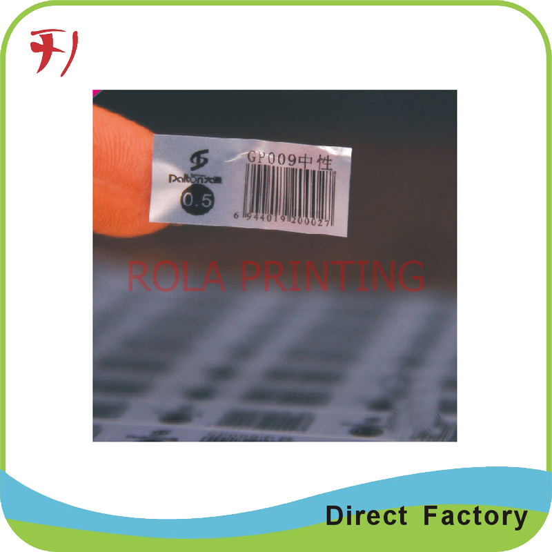 Customized Custom Ink Stickers with good quality(China (Mainland))