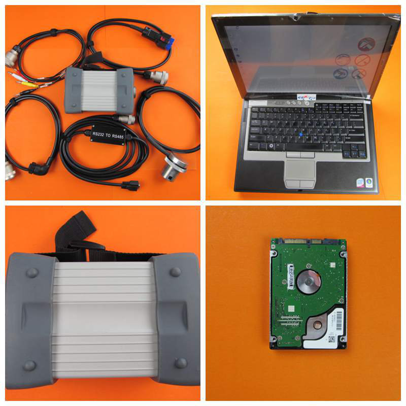 MB STAR C3 !!! Professional 8KG MB STAR C3 with Laptop D630 mb C3 Software hdd 2014.12v work for mb cars diagnostic tool(China (Mainland))