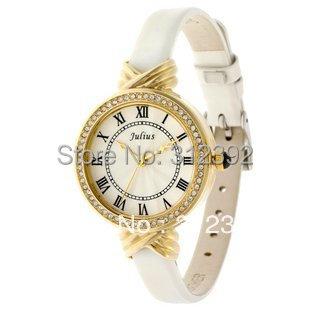 Direct from Factory Drop Ship! Wholesale! Free Shipping Julius Women's Wrist Watch Quartz Fashion JA-413 , Good Quality