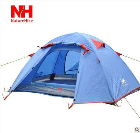 3persons classical professional aluminum pole camping family tent 2.0KGS NH<br><br>Aliexpress