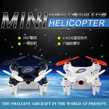 Mini Drone RC101C 4CH 2.4G 4Axis 360 Degree Roll Mini Drone LED Plane Model Toys RC Aircraft with WIFI