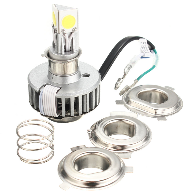 bulb led on sale at reasonable prices, buy 1pcs LM External Lighting P15D H6M LED Light Source Headlight Fog Lights DRL bulbs For Motorcycle No Hi/Lo Function from mobile site on Aliexpress Now!