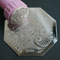QA80 TO  QA98   NEW ARRIVED ! stamping nail art image plate QA series qa1 to 98 designs for chooing template nail stamp