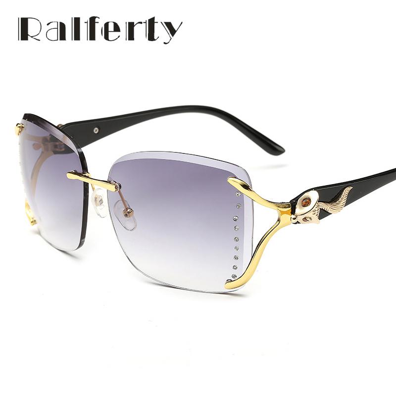 Ralferty Elegant Ladies Oversized FOX Sunglasses Big Gradient uv400 Sun Glasses Female Shades Pink Green Oculos lunettes 920(China (Mainland))