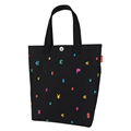 Durable Canvas Tote Preppy Style Lovely Print Women Fashion Casual Shoulder Bag Simple Designer Ladies Cheap
