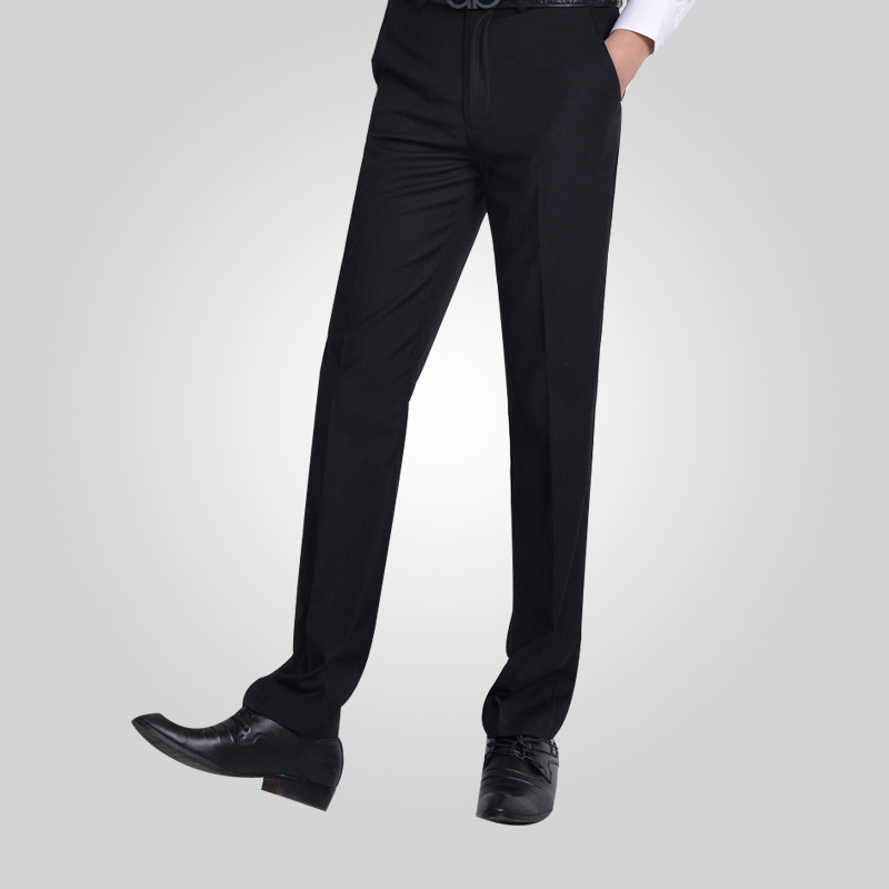 Summer-Twill-Cotton-Flat-Office-font-b-Work-b-font-Wear-Gentleman-Men-Black-Suit-font.jpg