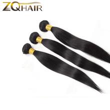 Brazilian Virgin Hair Straight 50g per Bundle 7A Human Hair Weave Extensions Soft & Silky Brazilian Straight Hair 3 Bundles(China (Mainland))