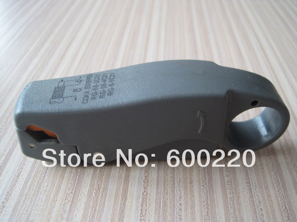 Rotary Coax Coaxial Cable Cutter Tool RG58 RG59 RG6 Stripper Wire Stripper(China (Mainland))