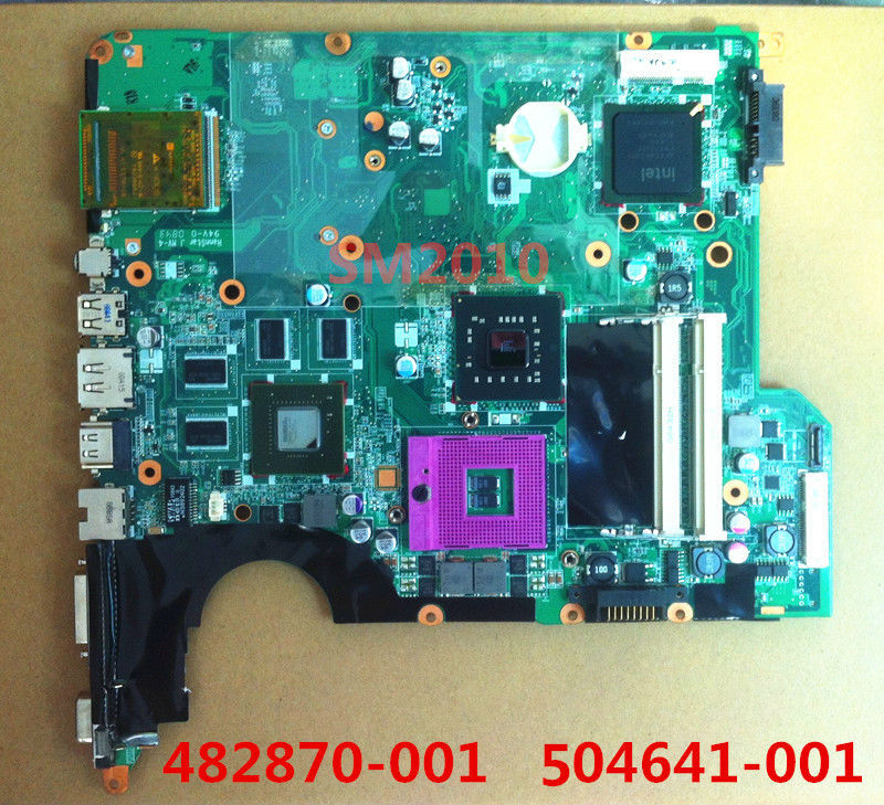 482870 001 482870-001 504641-001 Laptop motherboard for hp compaq pavilion DV5 DV5-1000 mainboard 100%tested 90 days warranty(China (Mainland))