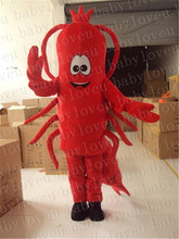 Larry Lobster mascot costume halloween costumes party costume dinosaurs fancy dress christmas gift