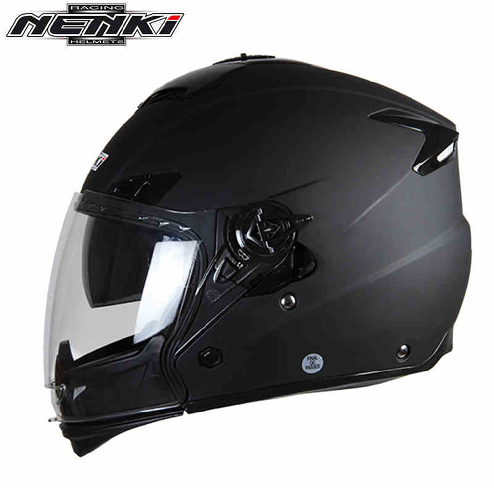 NENKI Dust-Proof Motorcycle Full Helmet Unisex Men Women Motorbike Motocross Dual-Purpose Half/Full Helmet ABS Shell Casque Moto(China (Mainland))