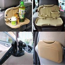 Free Shipping Foldable Car Auto Food Meal Drink Tray Desk Dining Table Water Cup Stand Holder(China (Mainland))