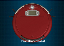 Free Shipping Voice Function Robotic Vacuum Cleaner With Two Side Brush 0 7L Dustbin Dirt Detection