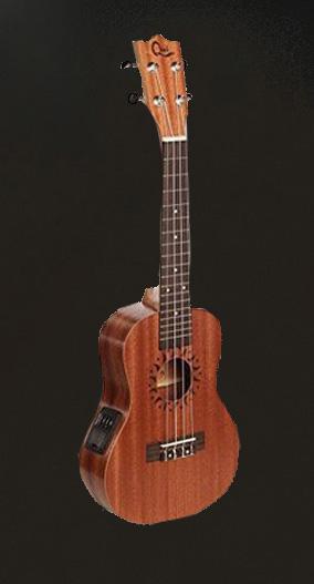 """Hot Free shipping Hot Sale Mini Ukulele Soprano Electric Ukulele 21"""" Hawaii Ukelele Guitar Musical Instruments(China (Mainland))"""