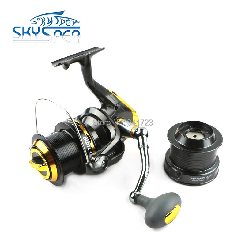 Skysper brand fishing reel pre loading spinning wheel 13bb for Best fishing reel brands