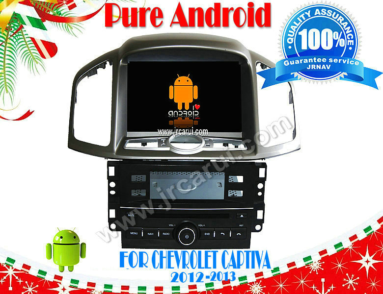 Android 4.4 car audio dvd gps system with Capacitive touch screen for CHEVROLET CAPTIVA(2012-2014), 3G ,WIFI ,support OBD(China (Mainland))