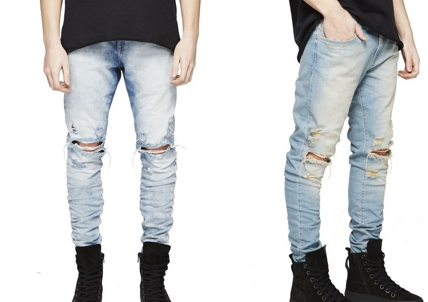 Mens Designer Distressed Jeans Promotion-Shop for Promotional Mens ...