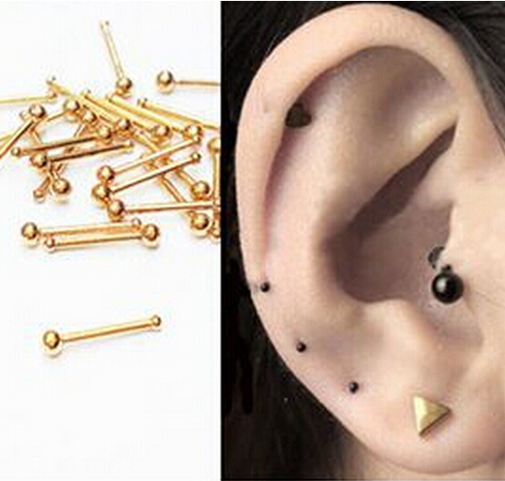 how to put on fake piercings