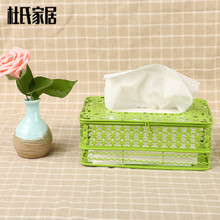 New sale good quality creative iron multi-functional car hotel home room napkin paper tissue towel box cover holder case rack (China (Mainland))