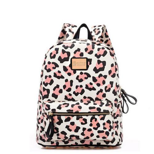 Women New Fashion Leopard Print Bag Travel Bag Student School Bag<br><br>Aliexpress