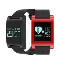 Buy Waterproof OLED Watch Health Heart Rate Bracelet DM68 Sport Pedometer Blood Pressure Monitor Call/ SMS Reminder IOS Android for $27.99 in AliExpress store