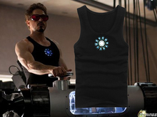 2015 summer style vest iron man3 slim vest lycra cotton(China (Mainland))