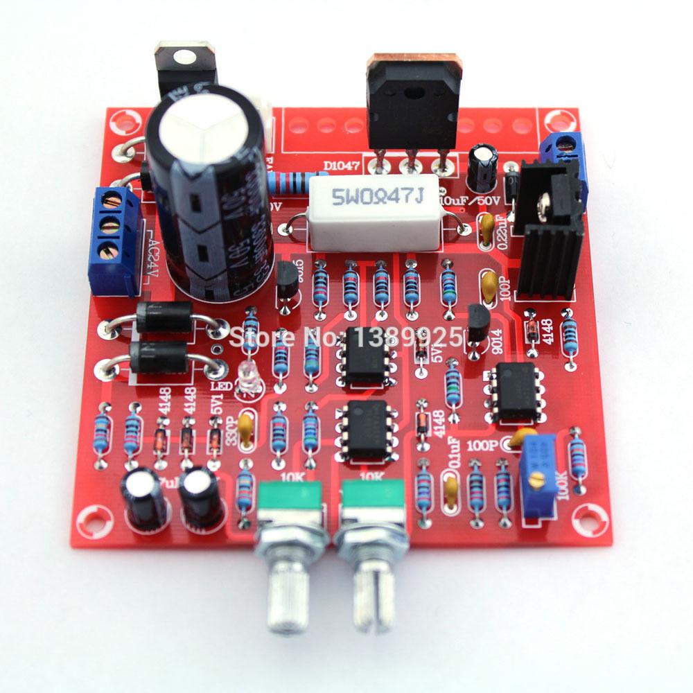 Free Shipping 0-30V 2mA - 3A Adjustable DC Regulated Power Supply DIY Kit + Radiator Aluminum Heatsink(China (Mainland))