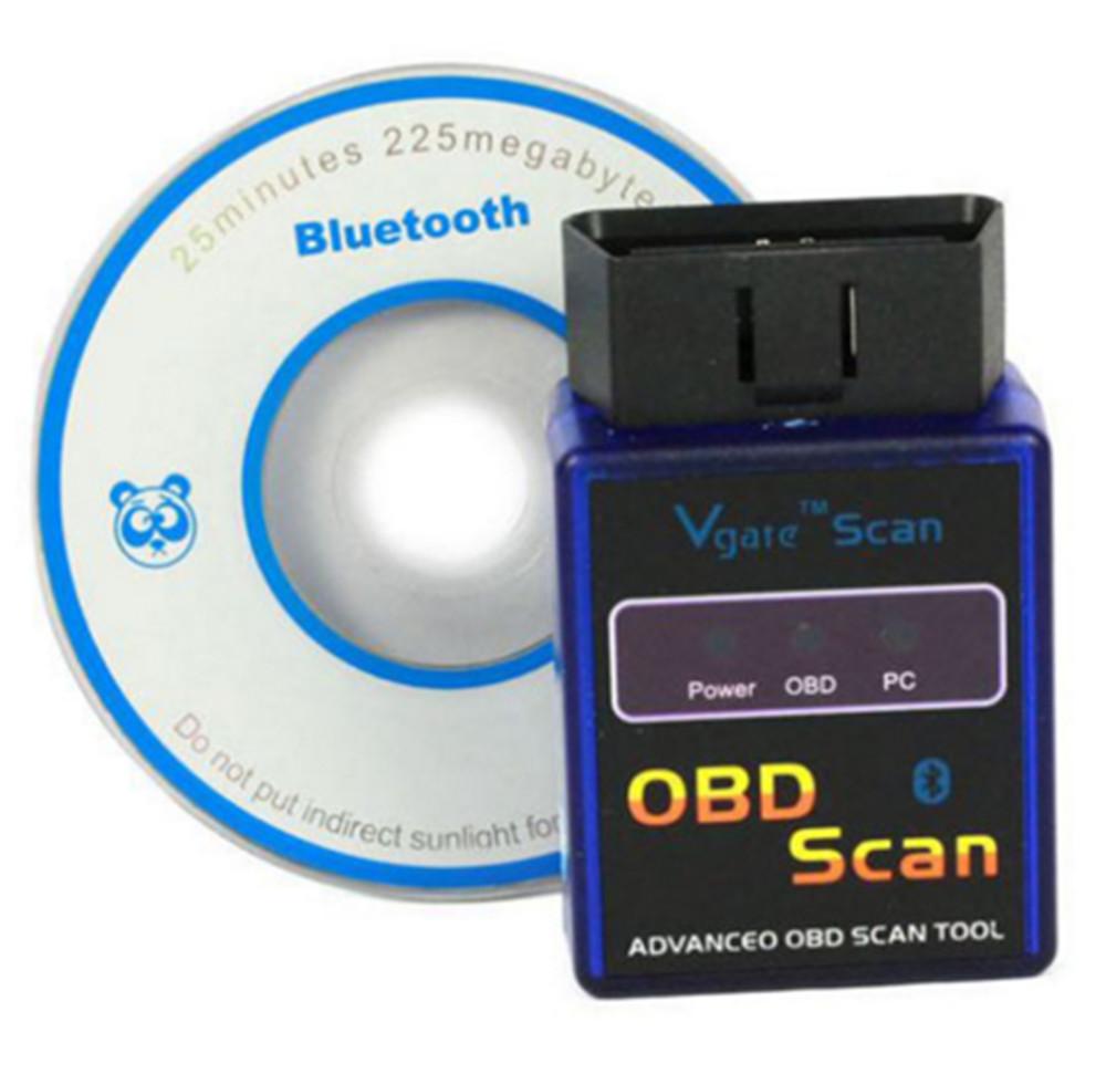 5pcs/lot Mini ELM327 B v1.5 Bluetooth Mini Small Interface OBD2 Scanner Adapter OBD2 Auto Car Diagnostic Scanner Tool(China (Mainland))