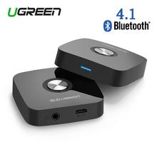 Ugreen 4.1 Беспроводная Связь Bluetooth Динамик Приемника Адаптер Для Наушников 3.5 ММ Аудио Стерео Музыкальный Приемник Bluetooth Адаптер Аудио(China (Mainland))