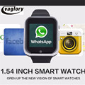 Android 4 4 GW05 Smart Watch Sim Card 3G Wifi Gamera Smartwatch MTK6572 Dual Core