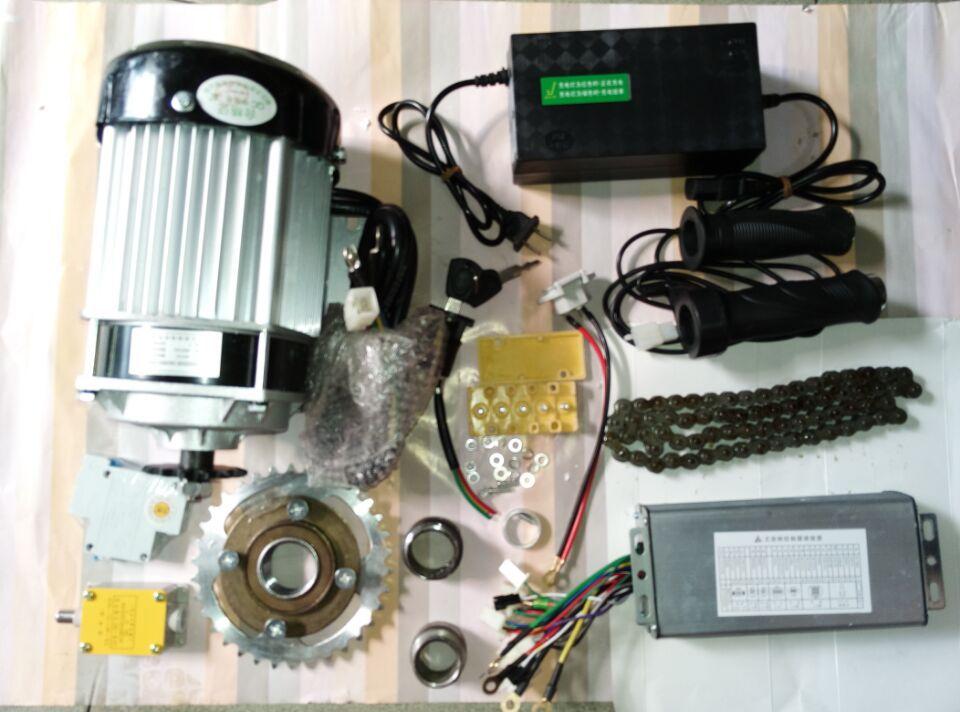 750W 60v brushless gear decelerating motor electric bike kit , electric bike conversion kit,light electric tricycle kit(China (Mainland))