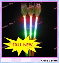 2011 NEW! Rose light bar, LED rose stick, flash sparklers, LED Angel Rod, Flashing rods, Free Shipping(China (Mainland))