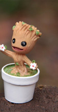 In Stock Brinquedos Guardians Of The Galaxy Mini Cute Groot Model Action And Toy Figures Cartoon Movies And TV(China (Mainland))