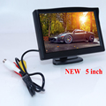 High quality 800 480 car reversing monitor bring hd lcd display and plastic shell material fit