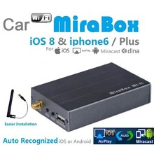 10PCS Wholesale Car WiFi AirPlay MiraCast For iPhone & Android Screen Mirroring to Car Stereos_DHL