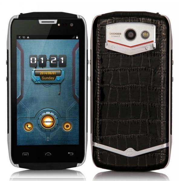 Original DOOGEE DG700 TITANS 2 IP67 MTK6582 Quad Core Mobile Phone Android 5.0 1GB 8GB 5M+2M Camera 3G OTG Waterproof 4000mAh(China (Mainland))