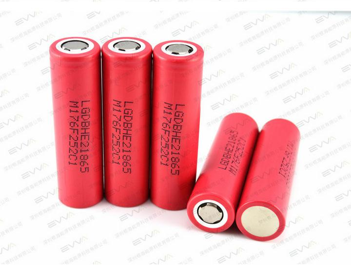 5PCS original LG HE2 18650 lithium ion rechargeable 3.7 V 2500 mah maintain the electronic cigarette rechargeable battery 20A(China (Mainland))