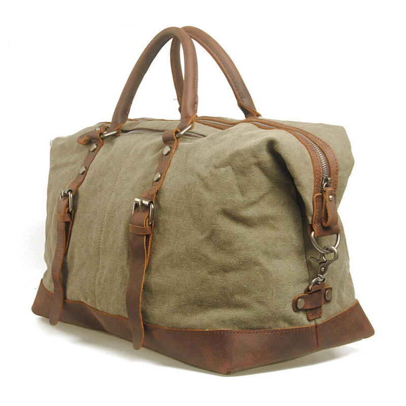 Retro Men Duffel Bag Travel Bags Canvas Large Capacity Travel Sports Shoulder Bag Men Mobile Messenger Weekend Bag 2015 Hot New(China (Mainland))