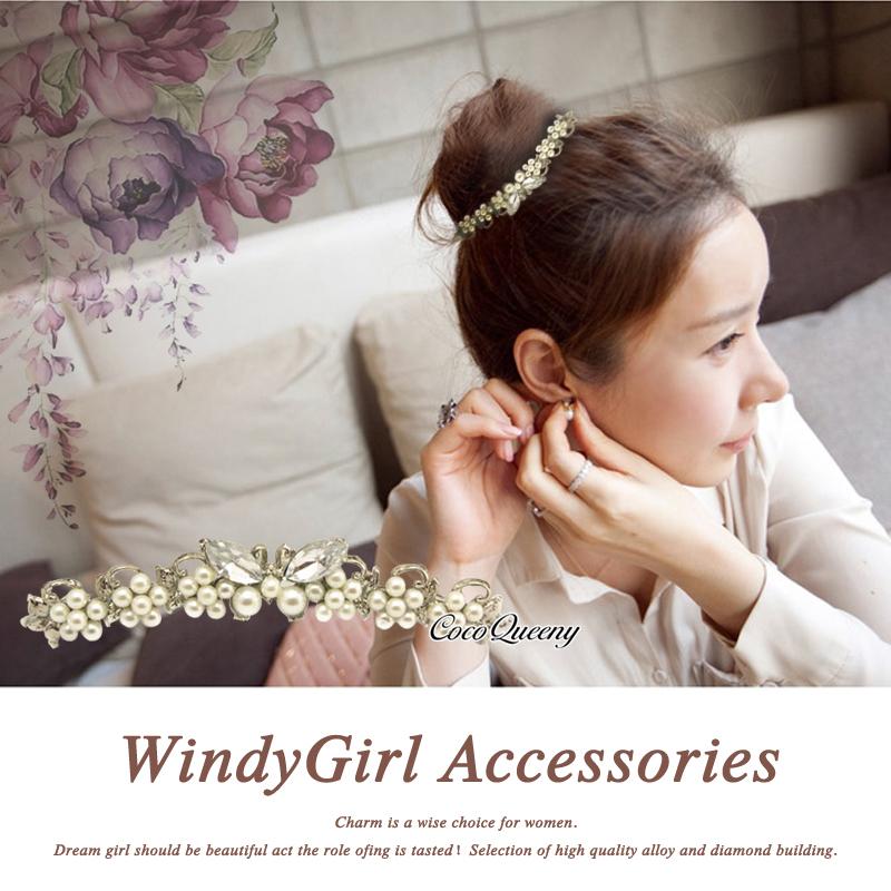 New Styles Women Bridal Wedding Decorations Crown Crystal Rhinestones Pearl Jewelry Hair Comb Hair Accessories HYA5236(China (Mainland))