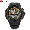 New Relogio Masculino OTS Watches Men Brand Luxury LED Digital Watch Men s Dual Display Sport
