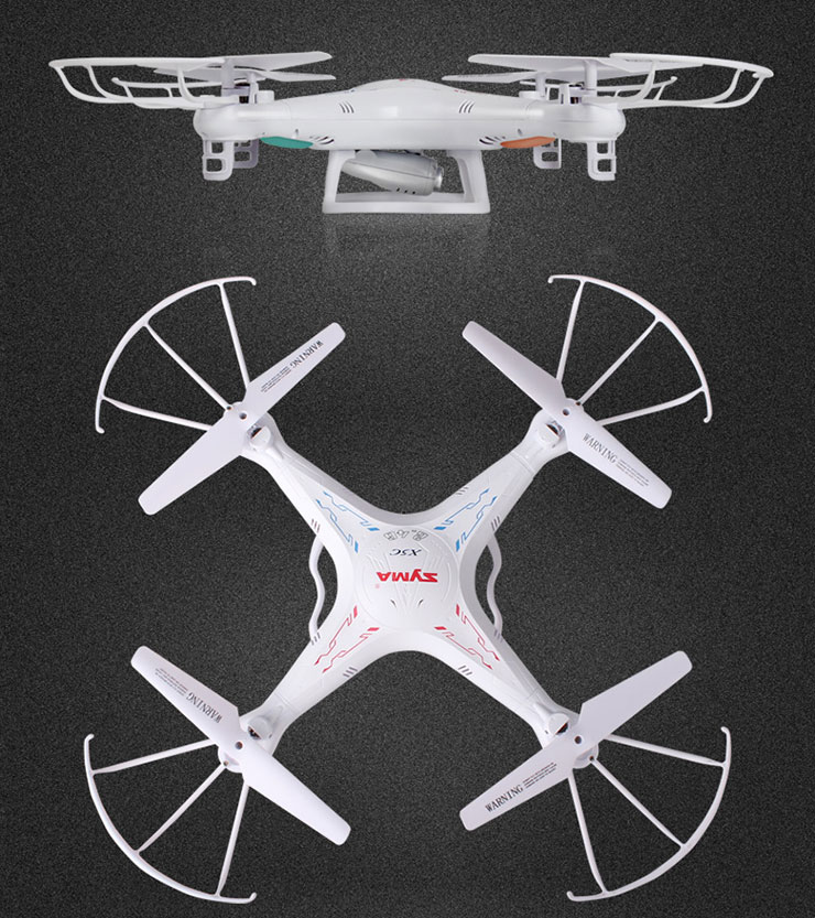 Syma X5C Explorers 4CH 6-Axis RC Quadcopter With HD Camera RTF 2.4GHz