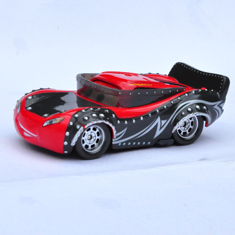 Rare Mc Queen of Heavy Metal Rock Band of Pixar Cars,Mini Alloy Toy Car,1:55 Scale, Diecast Metal Model Classic Vehicles(China (Mainland))