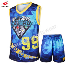free shipping sublimation font b basketball b font team uniforms OEM your own jersey men youth