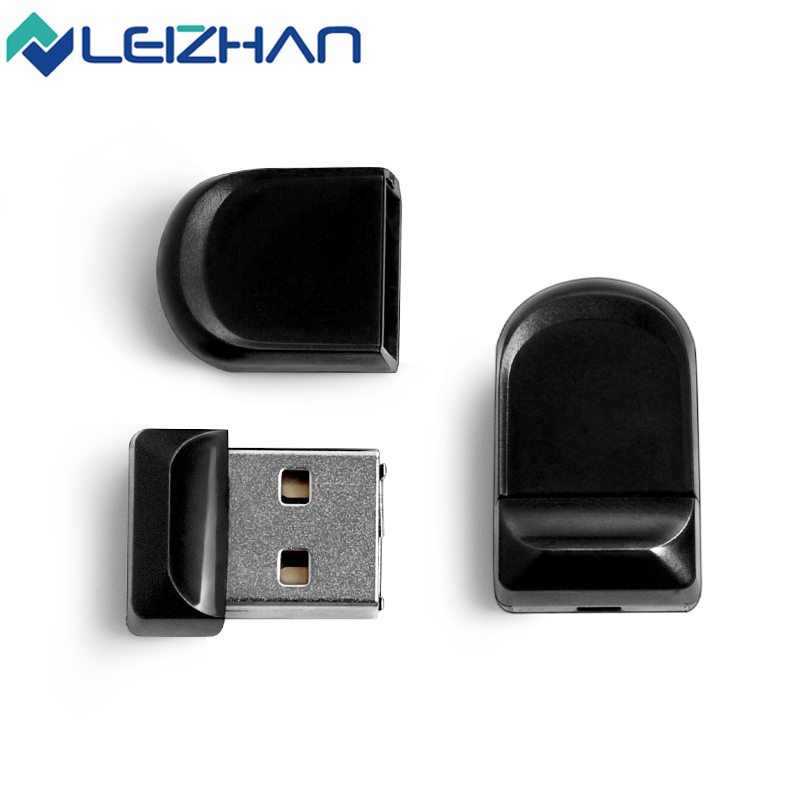 LEIZHAN USB Flash Drive Mini Black USB Flash Drive 4GB 8GB 16GB 32GB Pendrive USB 2.0 Pen Drive Mini U Disk Memory Stick(China (Mainland))