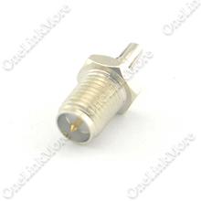 50 шт./лот SMA для CRC9 адаптера RP SMA женский чтобы CRC9 мужской адаптер коаксиальный разъем nickelplated прямой