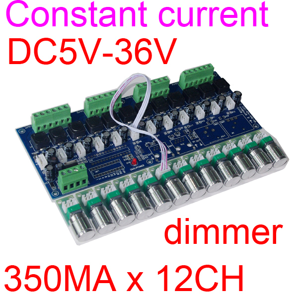 Free Shipping 350ma  constant current   12CH  dimmer ,12 channel  dimmer,drive ,<br><br>Aliexpress