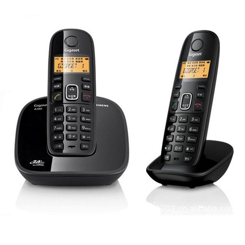 achetez en gros noir sans fil t l phone en ligne des grossistes noir sans fil t l phone. Black Bedroom Furniture Sets. Home Design Ideas