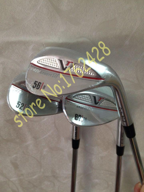 golf clubs VREV wedge set 52.56.60 degree with steel shaft 3pcs golf wedges RH(China (Mainland))